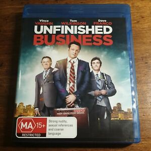 Unfinished Business Blu-Ray LIKE NEW! FREE POST