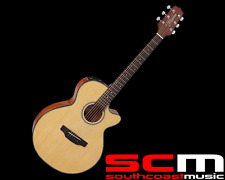 Takamine ED2FC FXC Acoustic Electric Guitar Cutaway Natural Mahogany