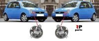 FOR VW LUPO 1998 - 2005 NEW FRONT BUMPER INDICATOR REPEATER CLEAR PAIR SET