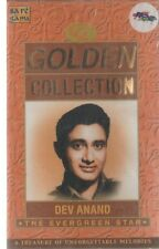 DEV ANAND - GOLDEN COLLECTION -NEW BOLLYWOOD SONGS AUDIO CASSETTE - FREE UK POST