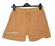 M&S Ladies Linen Shorts Womens Bottom Summer Beach Running Pool Girls Pants