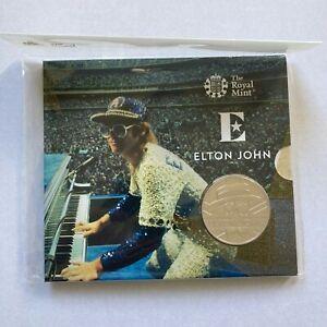 2020 UK £5 Elton John Dodgers Stadium Brilliant Uncirculated Coin ONLY 15,000