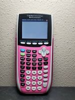 Pink TI-84 Plus C Silver Edition Graphing Calculator (Texas Instruments)