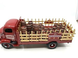 1938 Budweiser Delivery Truck ~ Danbury Mint ~ with Box and Cert~XLNT Condition