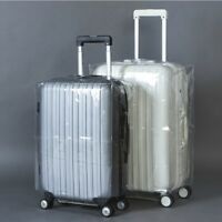 """18""""-30"""" Travel Luggage Cover Protector Suitcase Dust Proof PVC Anti Scratch Bag"""