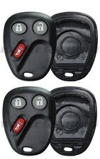 2 NEW GM KEYLESS ENTRY REMOTE HOUSING SHELL CASE BUTTON PAD Fix Repair fr LHJ011