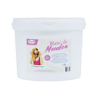 Blanc de Meudon - 4kg - Fait briller/lustrer argenterie, verre - Guide offert