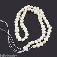 1 Neu Zuchtperlen Süßwasser Perlen Schmuck Kette