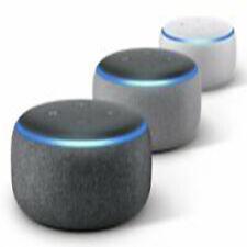 Amazon Echo Dot (3. Generation) Sprachgesteuerter Smart Lautsprecher dunkel grau