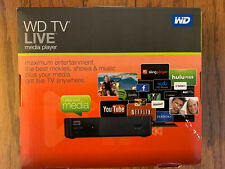 WD (Western Digital)TV LIVE Media Player WDBHG70000NBK-HESN - NEW/SEALED