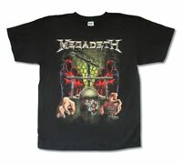 Megadeth Cyclops Torture Vice Head Crusher Image Black T Shirt New Official