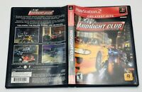 Midnight Club Street Racing PS2 Sony PlayStation 2 Greatest Hits Complete
