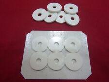 Bait pump washers to fit Alvey 30mm (Slim) bait pumps (Silicone rubber)