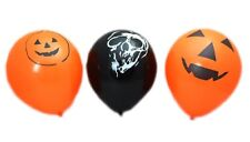 Haunted House Pack Of 20 Halloween Balloons Pumpkin Skull Party Decorations