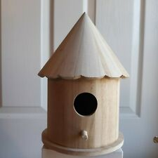 Birdhouse, Unfinished Wood, Hut.