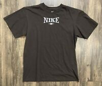 Brown Nike 1972 Graphic T-Shirt Men's Size Small Cotton Tee Shirt Sz S
