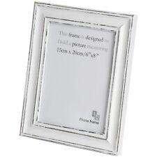 6 X 8 Antique White Photo Frame