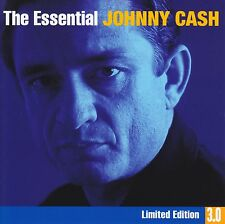 JOHNNY CASH (3 CD) THE ESSENTIAL 3.0 LIMITED EDITION ~HIGHWAYMEN~BOB DYLAN *NEW*