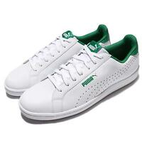 Puma Smash Perf White Green Men Casual Shoes Tennis Sneakers Trainers 363722-03