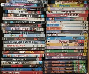 Large DVD and Blu-Ray collection of movies