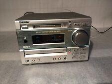 SONY MINI HI-FI SYSTEM DHC-MD373 CD PLAYER  MINI DISC TUNER / AMP / CD