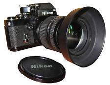 NIKON F2 nera con Photomic DP-1  zoom Nikon 24-120 D