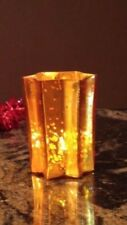 Mercury Candle Holders Set Gold Glass Table Centerpiece Wedding Tea Light Votive