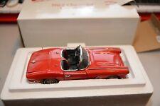 The Danbury Mint Diecast 1:24 1962 Chevrolet Corvette Red  with Box