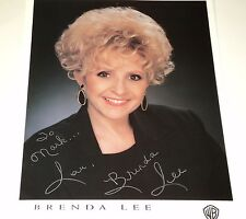 Brenda Lee / 8 1/2 X 11 Color Autographed Photo
