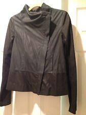 Vince Colorblock Leather Jacket