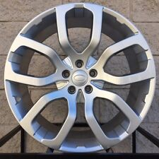 "20"" Land Rover Discovery 5 Split Spoke Style Wheels Rims Silver Evoque Coupe New"