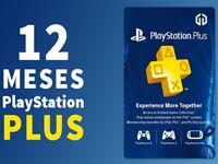 PS Plus -12 Months (24x14) PSN Ps3 Ps4 Envío Rapido (it´s not a code)