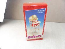 Chaise haute / Hochstuhl pour poupée, barbie Petra Family, vintage