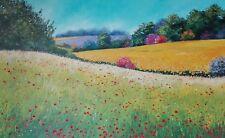 Quadrо Colori d'estate, olio su tela 60 x 90 cm.