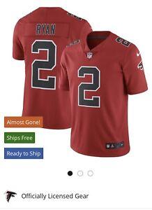 $150 NEW Nike Mens NFL Atlanta Falcons MATT RYAN #2 On Field Vapor Jersey Medium