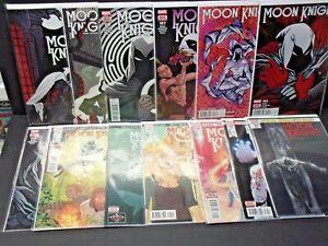 Moon Knight #188-200 High Grade (Full 2017 2018 Marvel Series) Sun King #200
