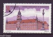 Polen Nr. 3098  gest.  Königsschloss Warschau