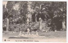 Giardino Villa Serbelloni Lago Como Italy 1910c postcard