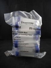 THERMOSCIENTIFIC Nunc 50mL Conical Polypropylene Centrifuge Tubes 25/Pack 339652