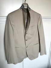 Giacca uomo BURBERRY LONDON tg 48 men jacket beige colletto check blazer
