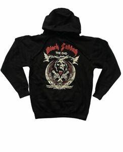 BLACK SABBATH THE END OBEY HOODIE HEAVY METAL ROCK BAND BRAND NEW MEN'S SIZES