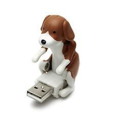 Funny Cute Pet USB Humping Spot Hund Spielzeug Weihnachten grau