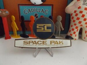 VINTAGE SPACE PAK EMBLEM FROM VINTAGE MACHINERY USE 4 STEAMPUNK ROBOT / JET PACK