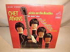 Vintage CHET ATKINS Picks on the Beatles LP  LPM 3531 Vinyl 1966 Record