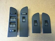 "2009 - 2014 FORD F150 POWER WINDOW SWITCH MASTER & PASSENGER & REAR "" BLACK """