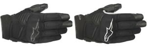 Alpinestars Adult Leather Touchscreen Motorcycle Gloves Faster All Colors S-3XL