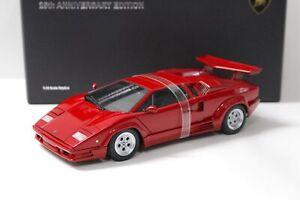 1:18 AUTOart Lamborghini Countach 25th Anniversary Edition red