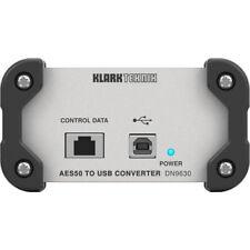Klark Teknik DN9630 AES50 to USB 2.0 Converter-IN STOCK!!-
