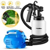 650W Electric Paint Sprayer Gun 800mL 3-ways Dial Nozzle  Handheld Home DIY Tool