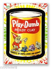 Wacky Play-Dumb Moldy Clay Refrigerator / Tool Box Magnet